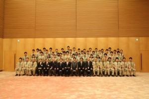 富士スカウト首相官邸表敬訪問
